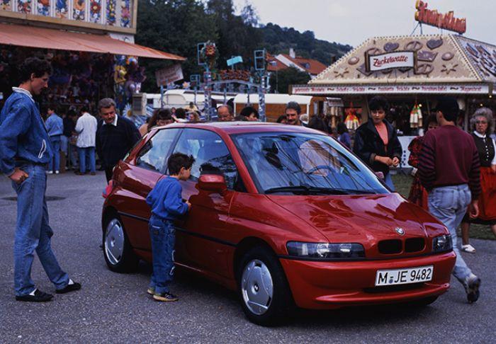 El BMW E1, anterior al i3