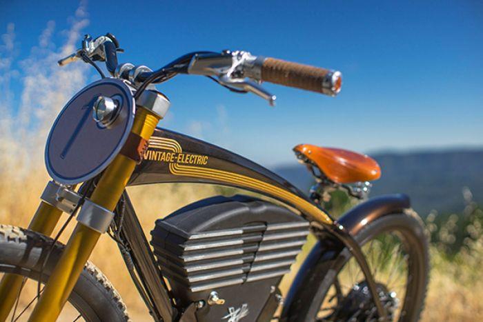 Vintage Electric Bikes presenta su Scrambler