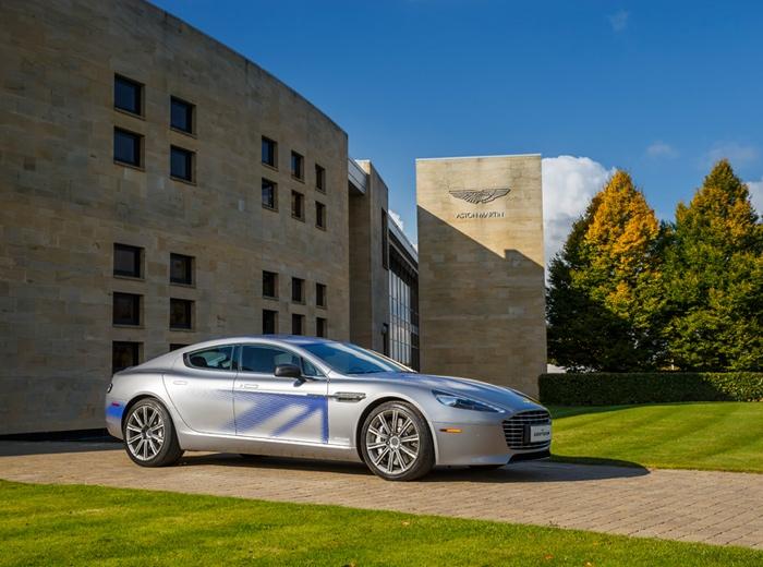 Aston Martin presenta su Rapid eléctrico