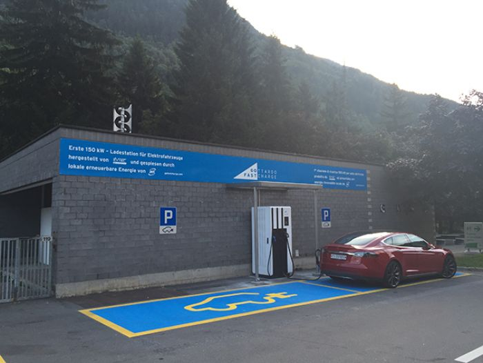 First Swiss High-Performance Fast Charger in Place