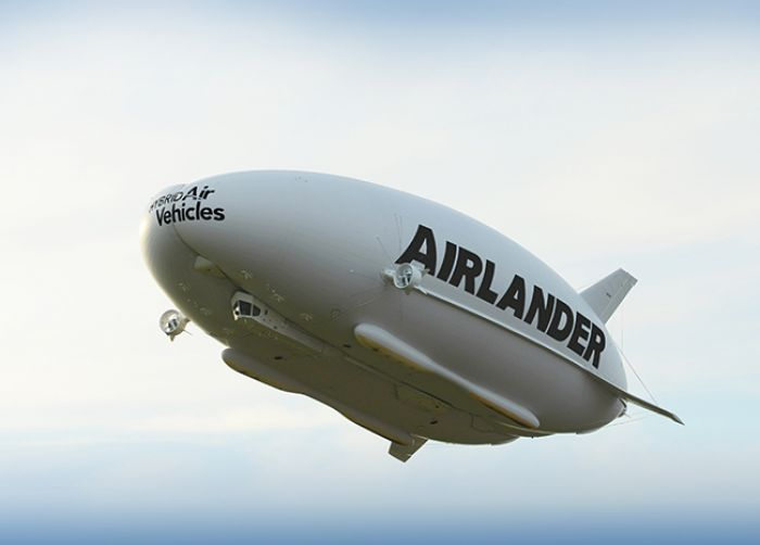 First flight of Airlander from Hybrid Air Vehicles