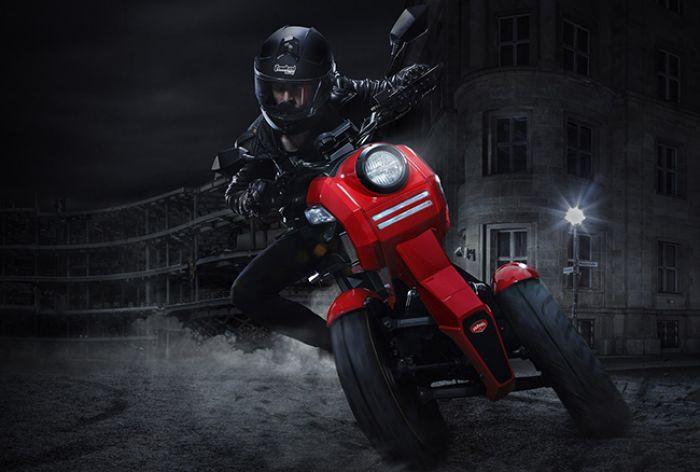 Doohan iTank, moto eléctrica de tres ruedas