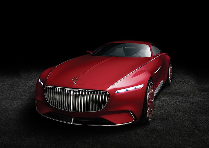 Mercedes-Maybach 6, sensational electric coupé