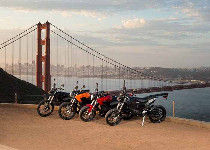 New products of Zero Motorcycles