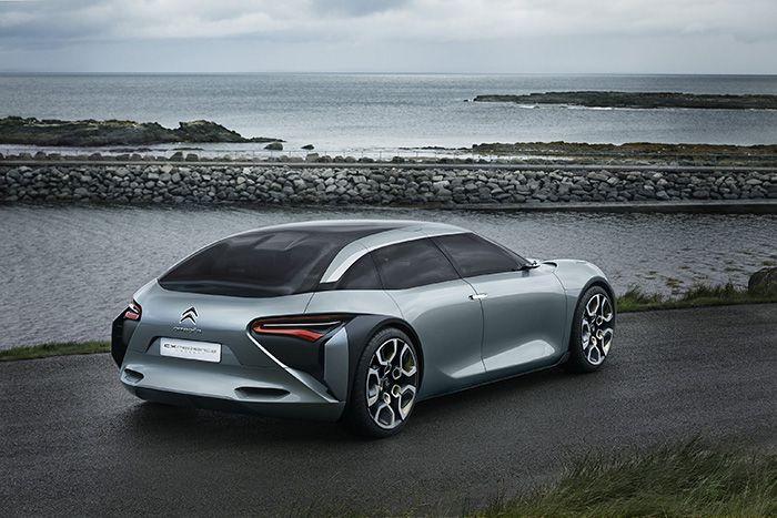 Citroën CXperience Concept, híbrido plug-in