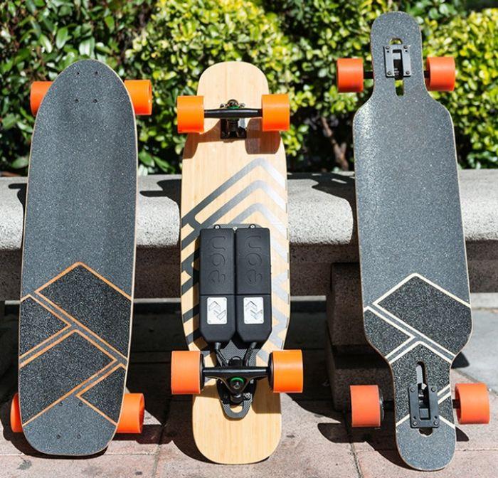 Kit para transformar cualquier skate en eléctrico