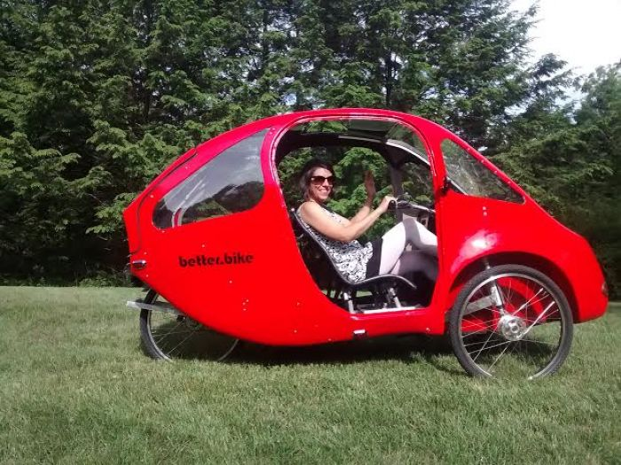 Better Bike a pedal electric vehicle