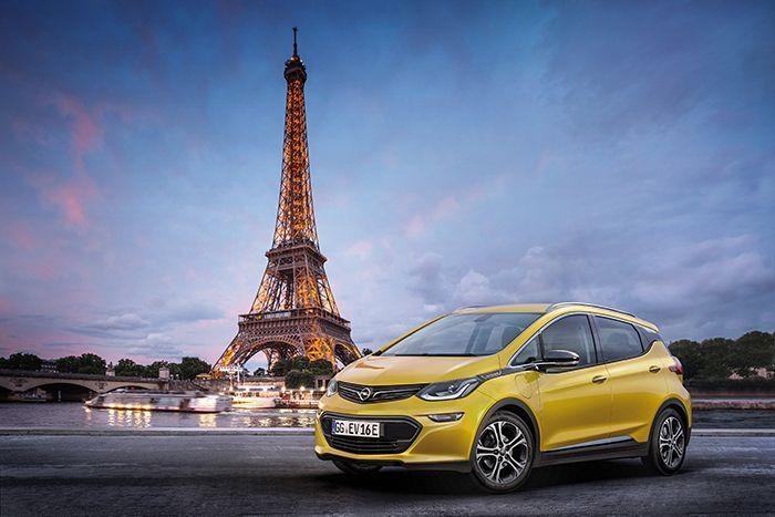 Opel presenta Ampera-e en París