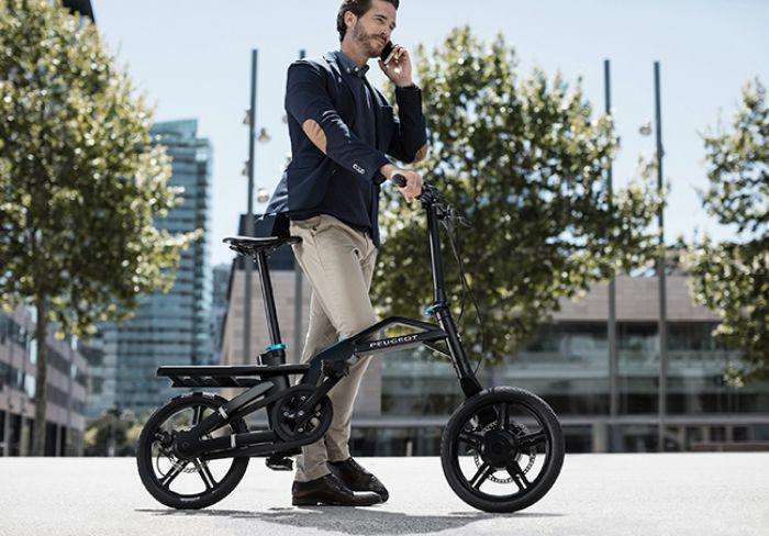 Peugeot presentará su bicicleta eléctrica plegable eF01
