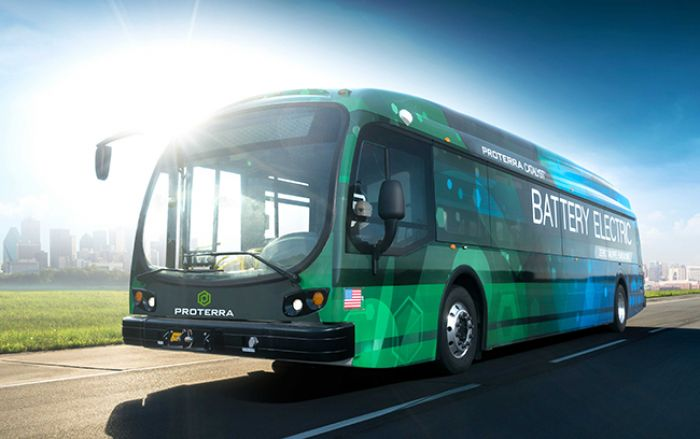 Proterra Catalyst E2 more than 600 miles on a single charge