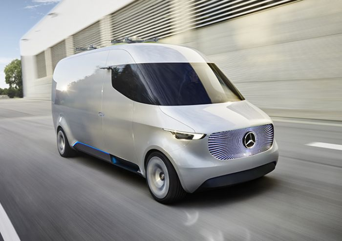 Mercedes` future initiative adVANce and Vision Van