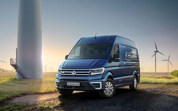 World premiere of Volkswagen e-Crafter