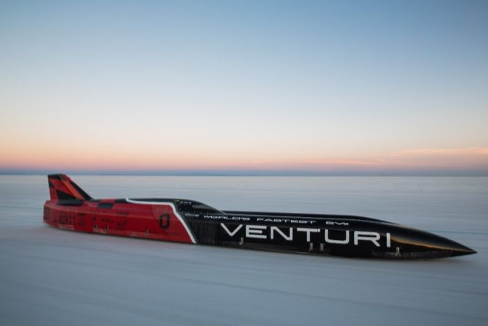 Venturi new world speed record