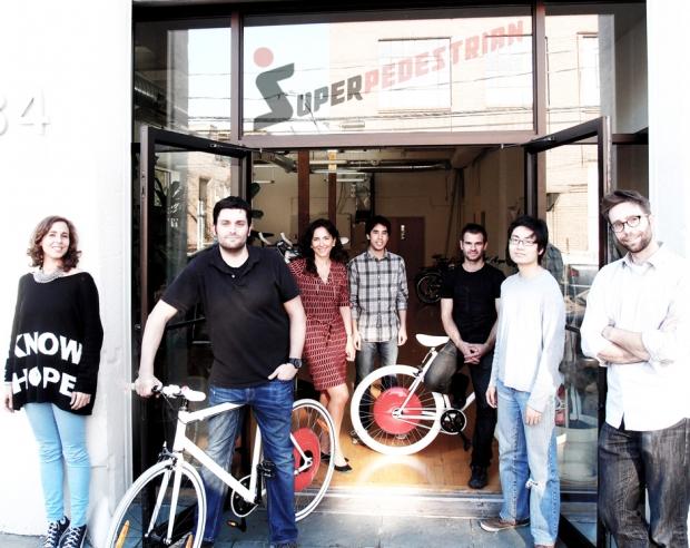 Superpedestrian invents Copenhagen Wheels