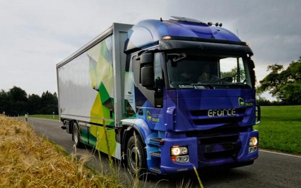 El camión eléctrico E-Force One gana el eCarTec Award