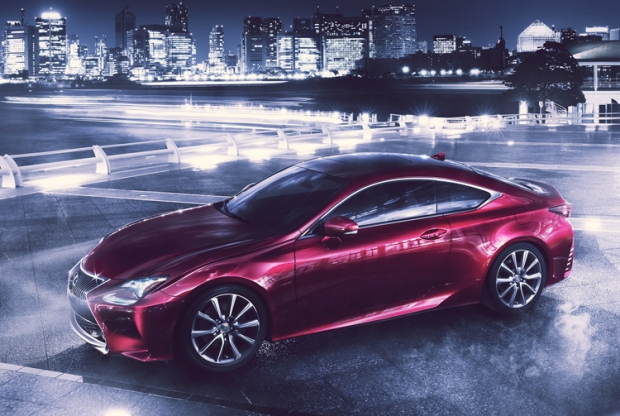 The Lexus RC 300h hybrid makes its world debut at Tokyo Motor Show