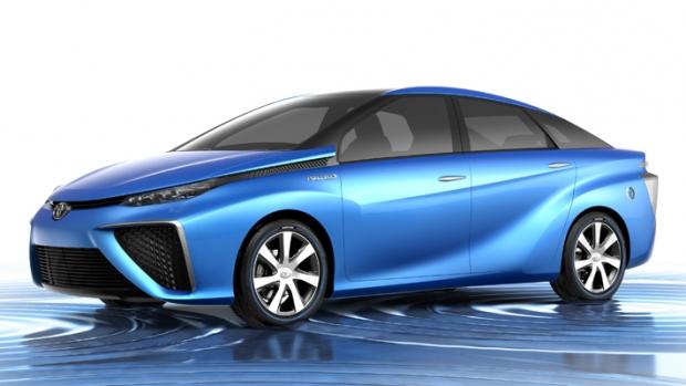 Toyota presenta su FCV con pila de combustible