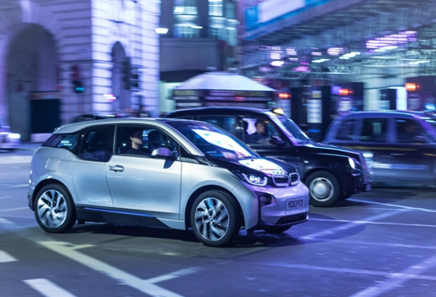 BMW i3 launchment in UK
