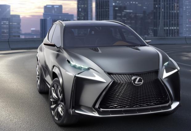 Lexus LF-NX Turbo en Tokio