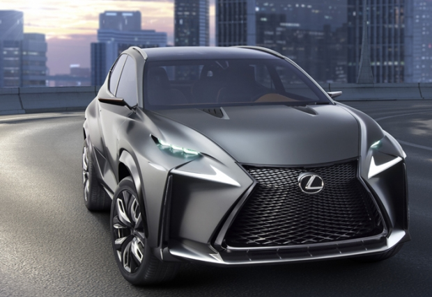 Lexus LF-NX Turbo version at Tokyo Motor Show 2013