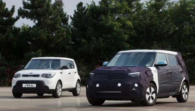 Kia´s new Soul as full electric car
