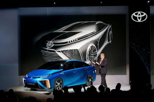 Toyota Fuel Cell as domestic energy supplier