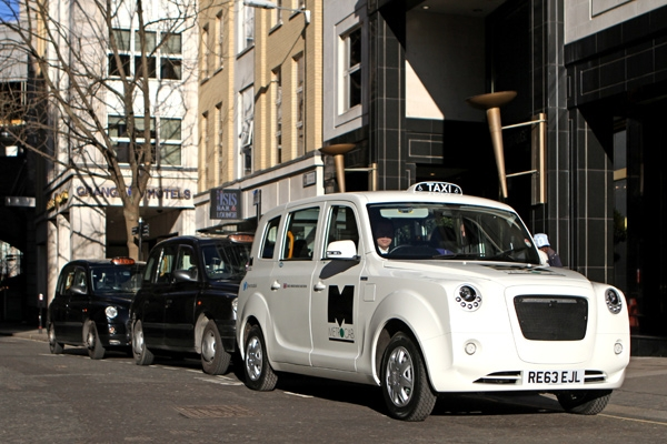 Frazer-Nash and Ecotive presents new Metrocab Taxi