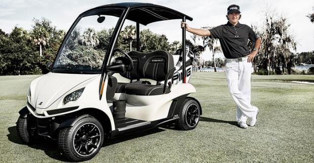 Garia Coche de Golf con Bubba Watson