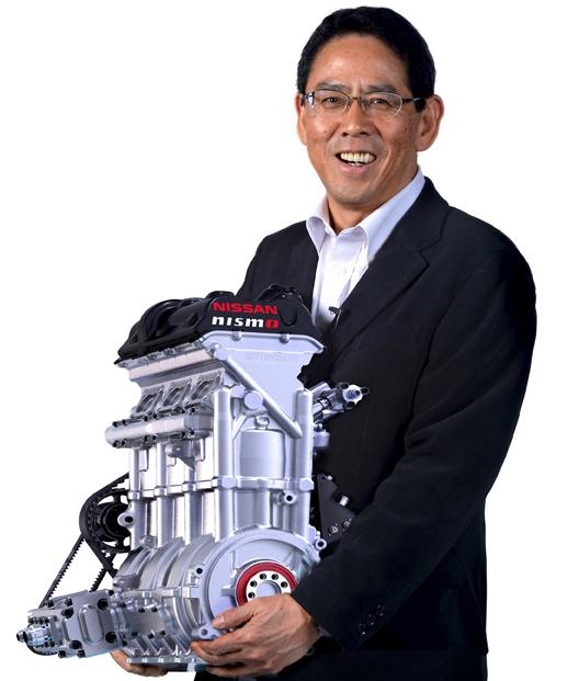 Nissan unveils a revolucionary engine