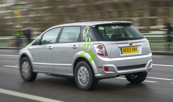 Thriev with 20 BYD electric cars in London