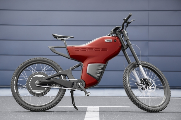 Qoros eBiqe - futuristic electric bikes from a new company