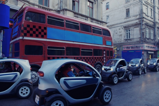 Renault Twizy in Zero Theorem
