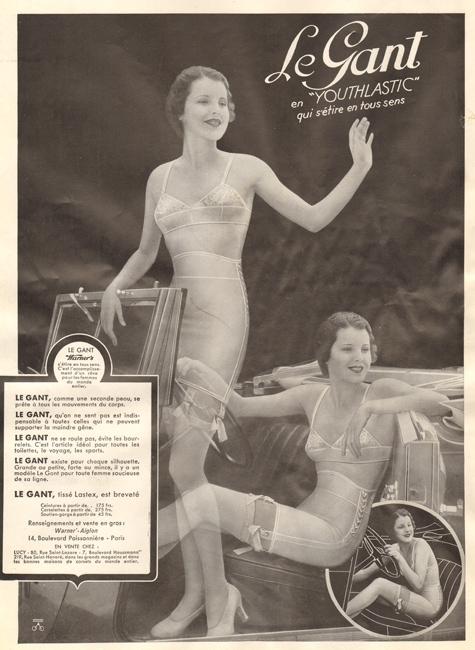 Bra, corset, bodice … and the car