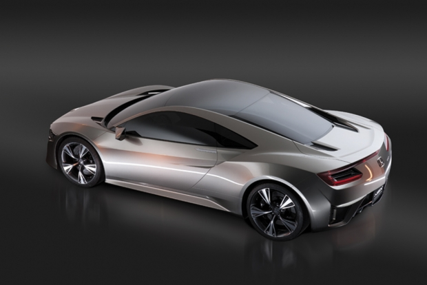 Honda NSX Hybrid Supercar en Goodwood