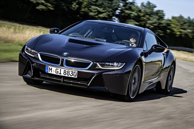 BMW i8 in action at Goodwood Speed Festival