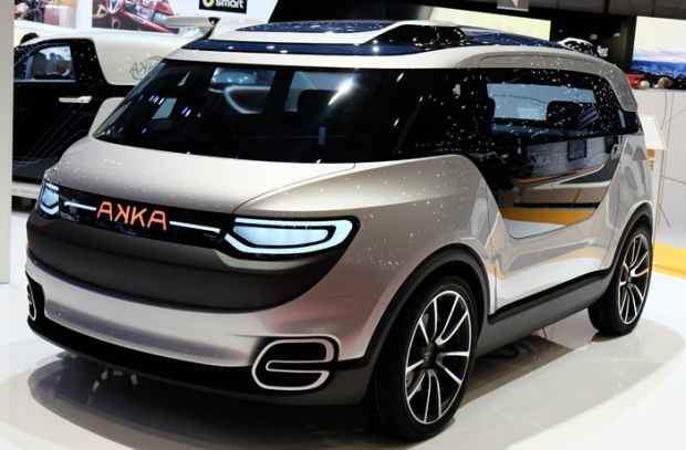 Akka Link+Go 2.0 prototype for an autonomous city car