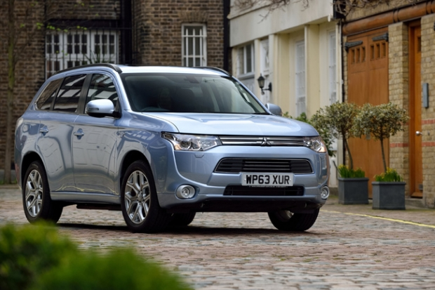 Mitsubihi Outlander Plug-In Hybrid, most practical 4WD