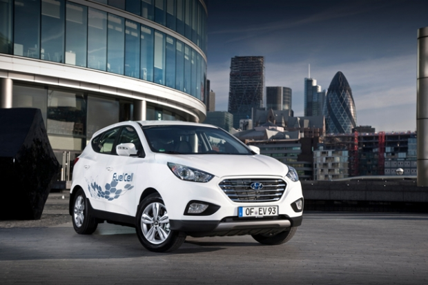 31 Million pounds for hydrogen vehicles