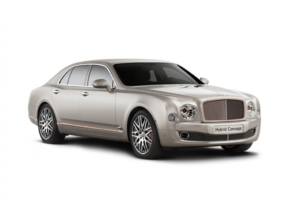 Bentley presenta versión híbrida enchufable
