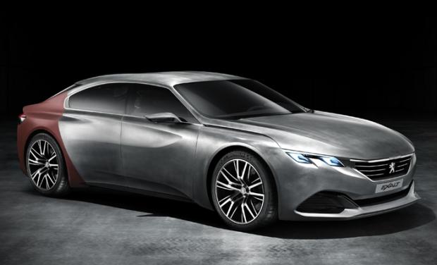 Peugeot EXALT hybrid concept car