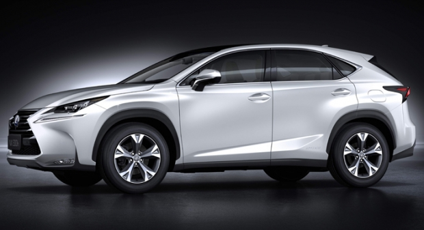 New crossover Lexus NX hybrid