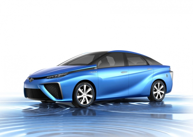 Toyota Fuel Cell Car in 2015