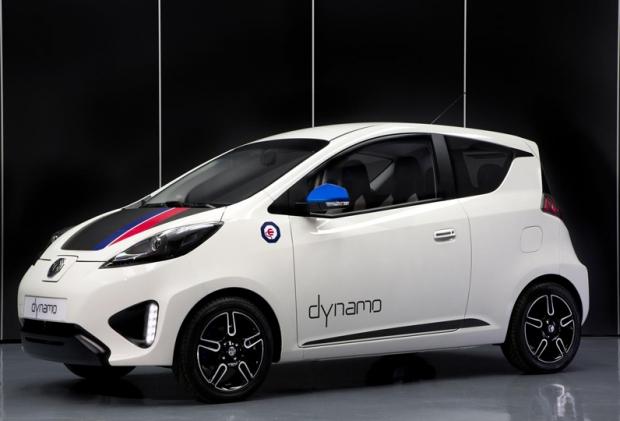 MG presents electric concept car