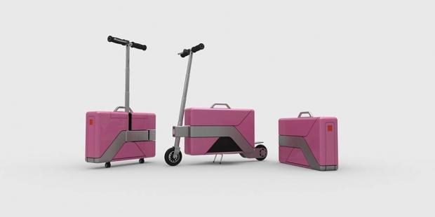 Commute-Case, maletín con ruedas
