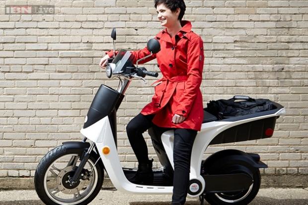 Scooter indio fabricado en América para todos los mercados