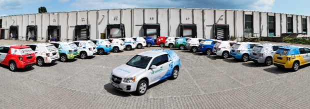119 vehículos GM de pila de combustible circulan 5 mllo de kilómetros