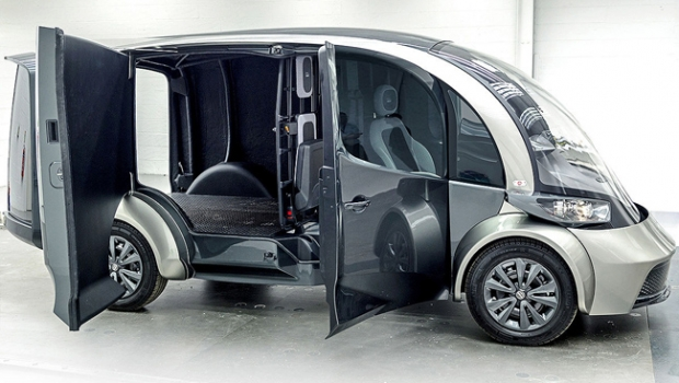 DELIVER, new electric delivery vehicle