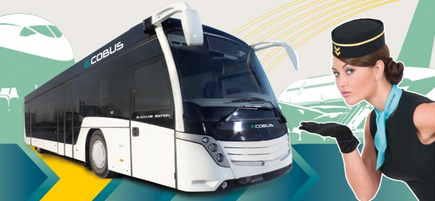 COBUS electric bus for airports