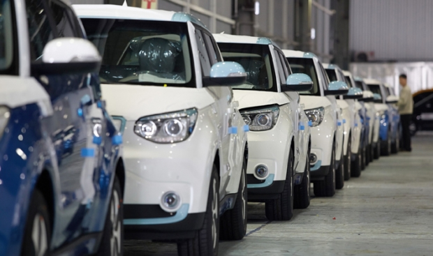Kia begun volume production of electric Soul