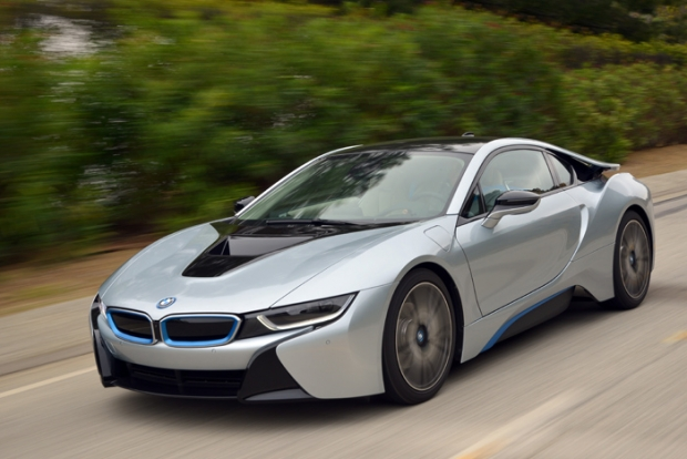 The new BMW i8 at Goodwood Speed Festival